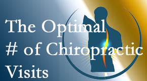 It's up to you and your pain as to how often you see the Carrolltown chiropractor.