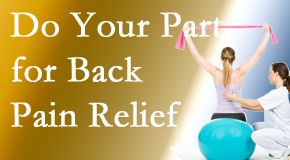 Gormish Chiropractic & Rehabilitation invites back pain sufferers to participate in their own back pain relief recovery.