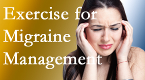 Gormish Chiropractic & Rehabilitation includes exercise into the chiropractic treatment plan for migraine relief.