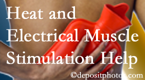 Gormish Chiropractic & Rehabilitation uses heat and electrical stimulation for Carrolltown pain relief.
