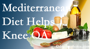 Gormish Chiropractic & Rehabilitation shares recent research about how good a Mediterranean Diet is for knee osteoarthritis as well as quality of life improvement.