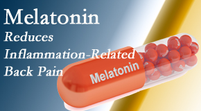 Gormish Chiropractic & Rehabilitation shares new findings that melatonin interrupts the inflammatory process in disc degeneration that causes back pain.