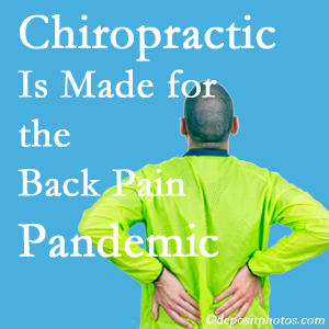 Carrolltown chiropractic care at Gormish Chiropractic & Rehabilitation is prepared for the pandemic of low back pain.