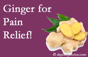 Carrolltown chronic pain and osteoarthritis pain patients will want to investigate ginger for its many varied benefits not least of which is pain reduction.