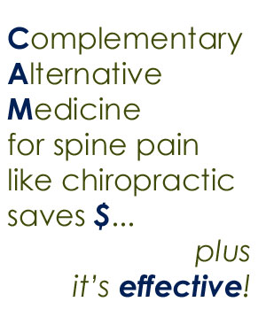 spine pain help from Carrolltown chiropractors