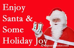 Carrolltown holiday joy and even fun with Santa are studied as to their potential for preventing divorce and increasing happiness.