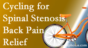 Gormish Chiropractic & Rehabilitation encourages exercise like cycling for back pain relief from lumbar spine stenosis.