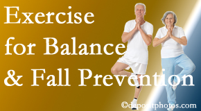 Carrolltown chiropractic care of balance for fall prevention involves stabilizing and proprioceptive exercise.