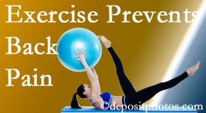 Gormish Chiropractic & Rehabilitation suggests Carrolltown back pain prevention with exercise.