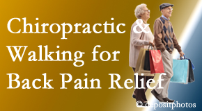 Gormish Chiropractic & Rehabilitation encourages walking for back pain relief along with chiropractic treatment to maximize distance walked.