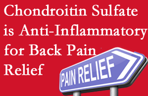 Carrolltown chiropractic treatment plan at Gormish Chiropractic & Rehabilitation may well include chondroitin sulfate!