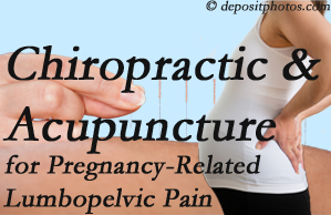 Carrolltown chiropractic and acupuncture may help pregnancy-related back pain and lumbopelvic pain.