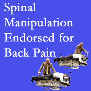 Carrolltown chiropractic care involves spinal manipulation, an effective,  non-invasive, non-drug approach to low back pain relief.