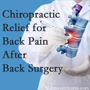 Gormish Chiropractic & Rehabilitation offers back pain relief to patients who have already undergone back surgery and still have pain.