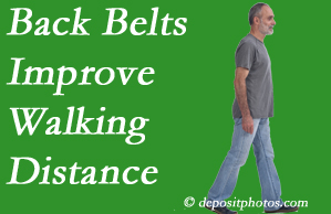 Gormish Chiropractic & Rehabilitation sees benefit in recommending back belts to back pain sufferers.