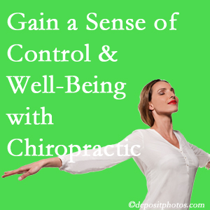 Using Carrolltown chiropractic care as one complementary health alternative improved patients sense of well-being and control of their health.