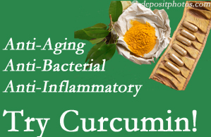 Pain-relieving curcumin may be a good addition to the Carrolltown chiropractic treatment plan.