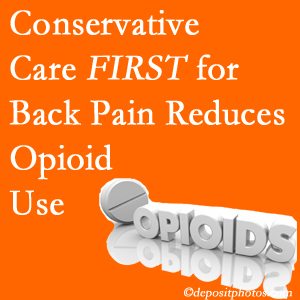 Gormish Chiropractic & Rehabilitation provides chiropractic treatment as an option to opioids for back pain relief.