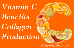 Carrolltown chiropractic offers tips on nutrition like vitamin C for boosting collagen production that decreases in musculoskeletal conditions.