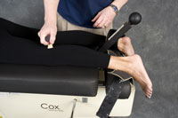 Carrolltown chiropractic trigger point therapy in the leg